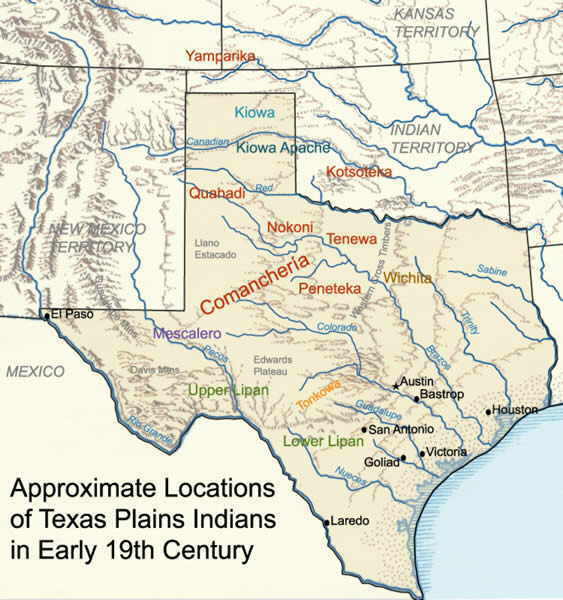 Map Of Texas Early 1800s.Maps