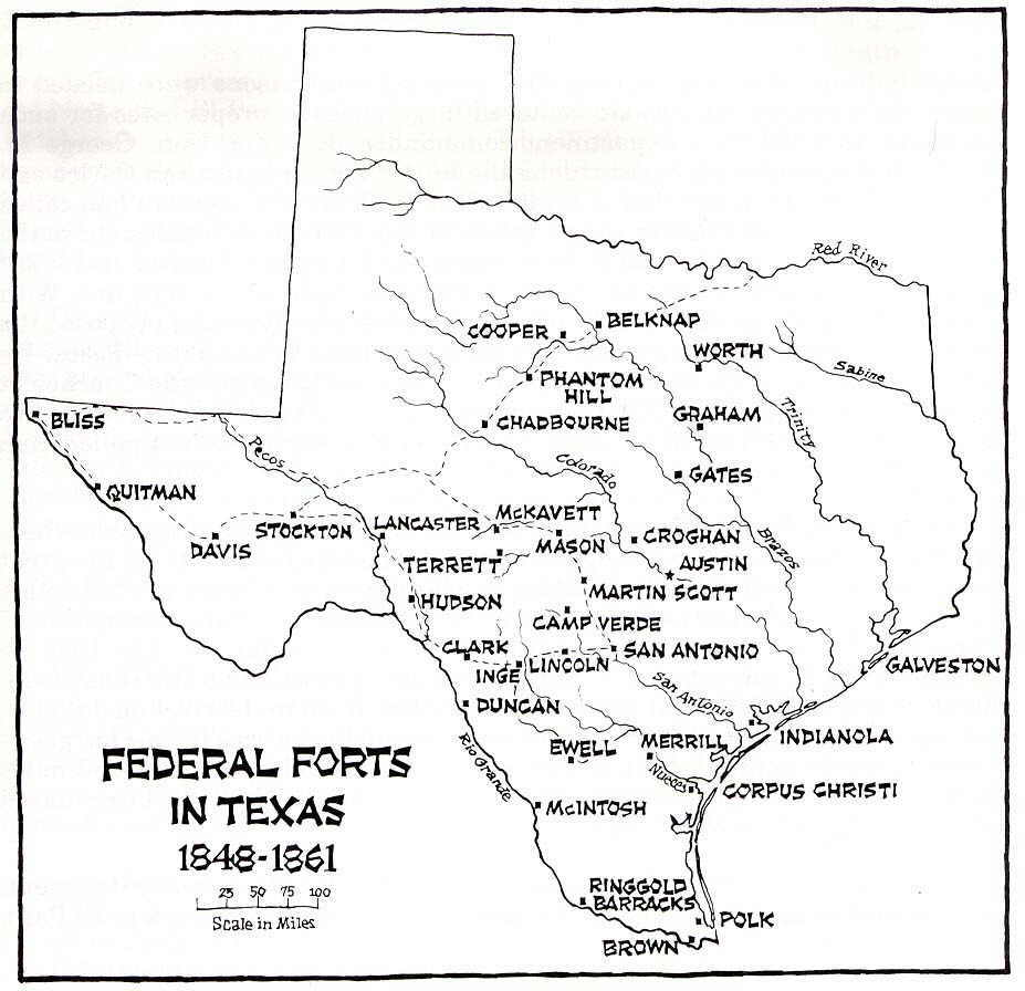 Texas County Map - Map of tex